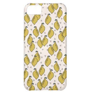 Lovely Lemons - Cream/Mustard / Andrea Lauren iPhone 5C Covers