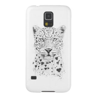 Lovely leopard galaxy s5 cover