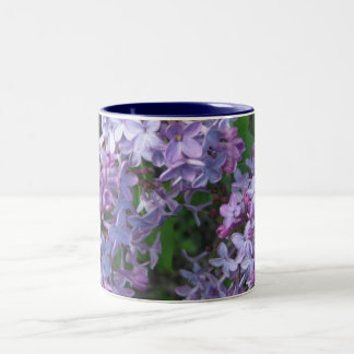 lovely lilac Two-Tone coffee mug