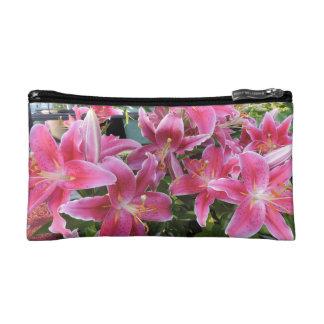 Lovely Lilies - Stargazer Lilies Makeup Bag