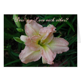 Lovely Lily Card