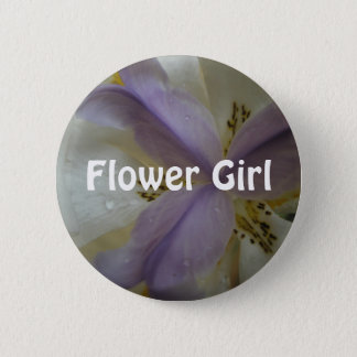 Lovely Lily Wedding 2 Inch Round Button