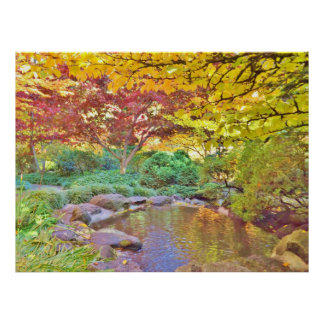 LOVELY LITHIA PARK WITH FALL COLORS PRINT