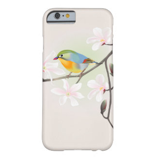 Lovely Little Bird and White Magnolias iPhone 6 Barely There iPhone 6 Case