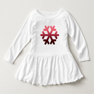 Lovely Little Snowflake Dress