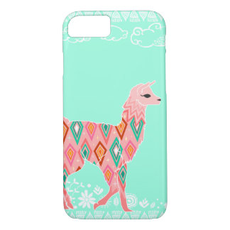 Lovely Llama - Pink iPhone 8/7 Case