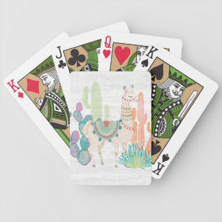 Lovely Llamas II Bicycle Playing Cards