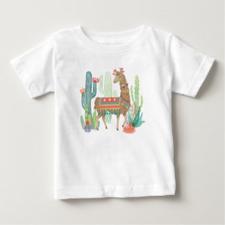 Lovely Llamas III Baby T-Shirt