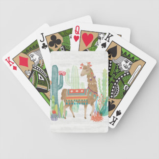 Lovely Llamas III Bicycle Playing Cards