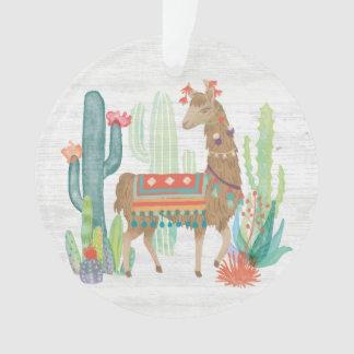 Lovely Llamas III Ornament