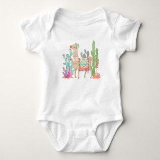 Lovely Llamas IV Baby Bodysuit