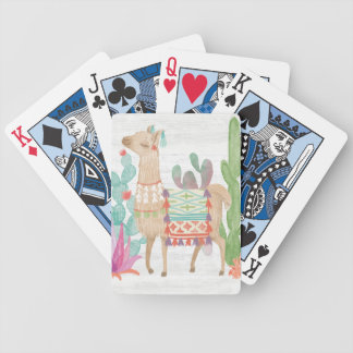 Lovely Llamas IV Bicycle Playing Cards