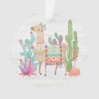 Lovely Llamas IV Ornament