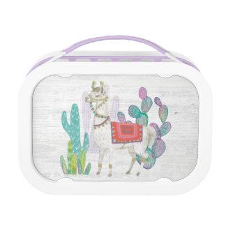 Lovely Llamas V Lunch Box