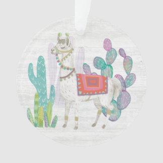 Lovely Llamas V Ornament