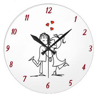 ****LOVELY LOVER'S**** CLOCK