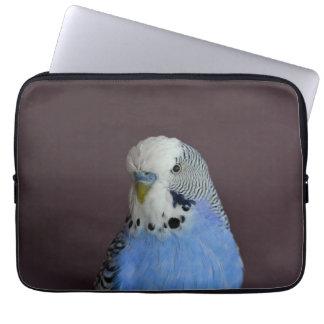 Lovely Macro Budgie Bird Laptop Computer Sleeves