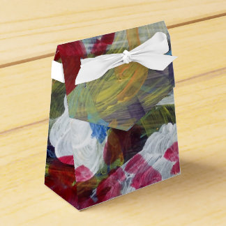 Lovely Magic Abstract Expressive Design Favor Box