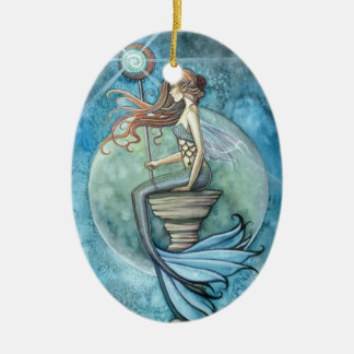 Lovely Mermaid Ornament Jade Moon