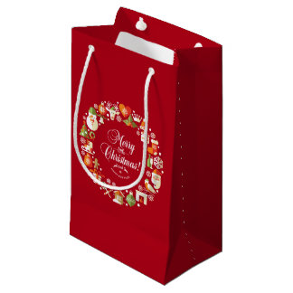 Lovely Merry Little Christmas   Gift Bag