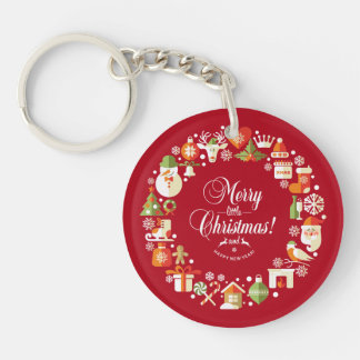 Lovely Merry Little Christmas | Keychain