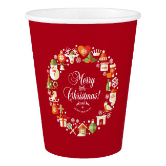 Lovely Merry Little Christmas   Paper Cups