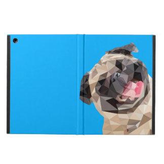 Lovely mops dog iPad air case