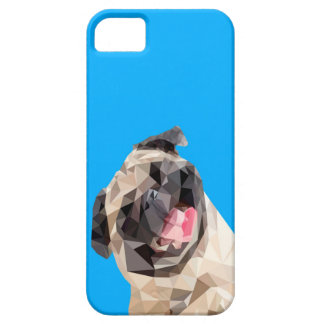 Lovely mops dog iPhone 5 case