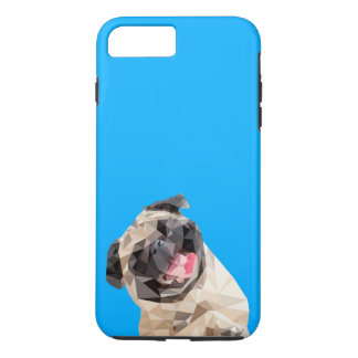 Lovely mops dog iPhone 7 plus case