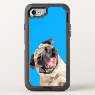 Lovely mops dog OtterBox defender iPhone 8/7 case