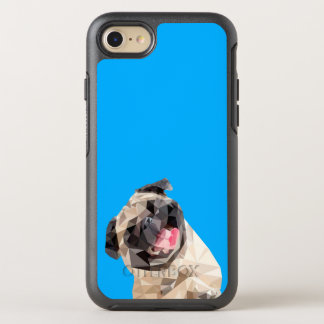 Lovely mops dog OtterBox symmetry iPhone 7 case