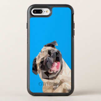 Lovely mops dog OtterBox symmetry iPhone 8 plus/7 plus case