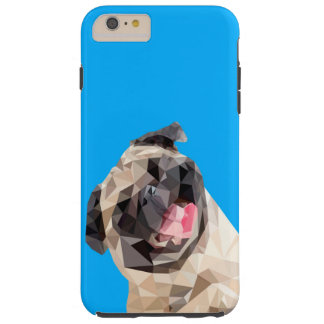 Lovely mops dog tough iPhone 6 plus case