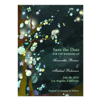 Lovely Night Save the Date Invitations