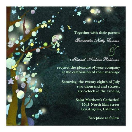 Lovely Night: Wedding Invitations