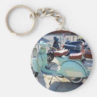 Lovely Old Scooter Key Chains