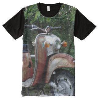 Lovely Old Scooter Men  American Apparel All-Over All-Over-Print T-Shirt