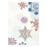 lovely ornate christmas snowflakes art