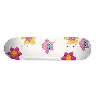 lovely owls skateboard