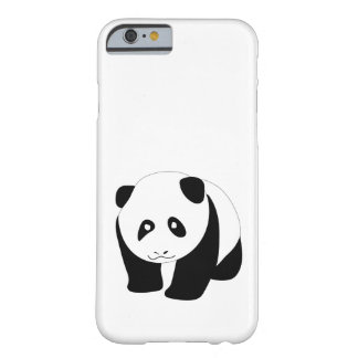 Lovely panda barely there iPhone 6 case