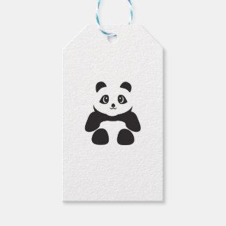 Lovely Panda bear Gift Tags