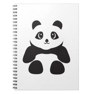 Lovely Panda bear Notebooks