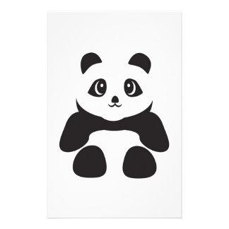 Lovely Panda bear Stationery