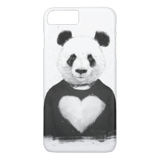 Lovely panda iPhone 7 plus case
