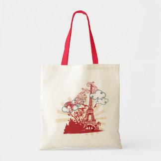 Lovely Paris Tote Bag