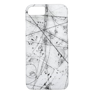 Lovely particle physics trails iPhone 7 case
