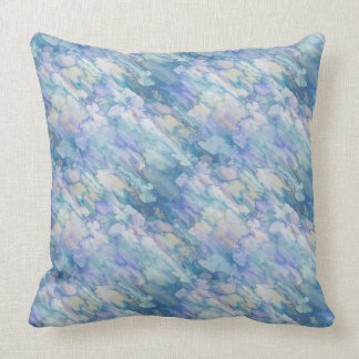 Lovely Pastel Blue & Pink Pillow Cover