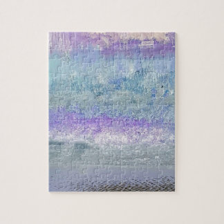 Lovely Pastel Invert Customizable Chic Design Jigsaw Puzzle