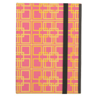Lovely Pink and Gold Royal Princess Pattern Case For iPad Air