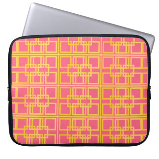 Lovely Pink and Gold Royal Princess Pattern Laptop Sleeve